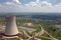 Energy producing station Royalty Free Stock Photo