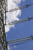 Energy pylon Stock Photography