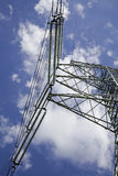 Energy pylon. Against the blue sky Stock Photography