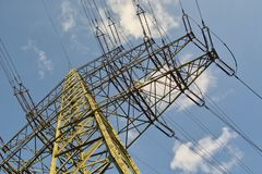 Energy Pylon Royalty Free Stock Images