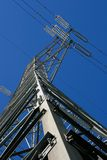 Energy pylon - Stock image Stock Photography