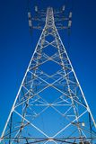 Energy pylon - Stock image Stock Image
