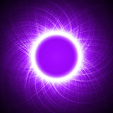 Energy ring.(big ring version) Royalty Free Stock Photography