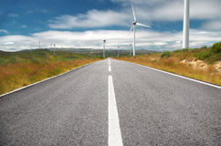 Energy Road Royalty Free Stock Images