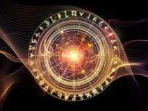 Energy of Sacred Geometry Stock Photo