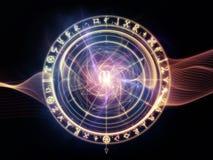 Energy of Sacred Geometry Stock Photography