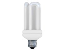 Energy save lamp Stock Image