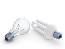 Energy save lamp Stock Photo