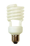 Energy save lamp taken. Royalty Free Stock Photography