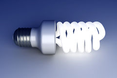 Energy Saver Light Bulb Royalty Free Stock Image
