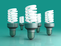 Energy Saver Light Bulbs Royalty Free Stock Image