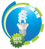 Energy saving Royalty Free Stock Photos
