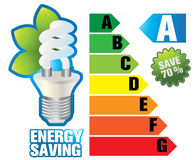 Energy saving Royalty Free Stock Image