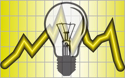 energy saving διανυσματική απεικόνιση