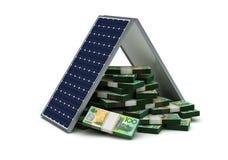 Energy Saving for Australian Dollar Royalty Free Stock Images