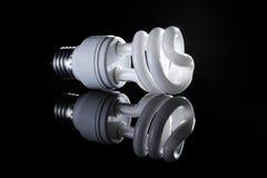 Energy saving bulb Stock Photography