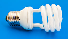 Energy saving bulb Stock Image