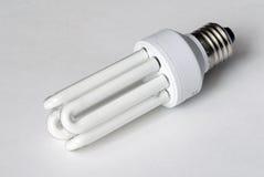 Energy saving bulb. On the background Royalty Free Stock Photo