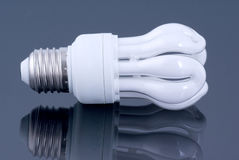 Energy saving bulb for clear Earth Stock Images