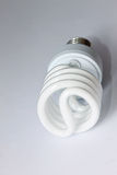 Energy-saving bulb Stock Photo