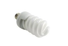 Energy saving bulb isolated Stock Photos