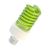 Energy saving bulb isolated Royalty Free Stock Images