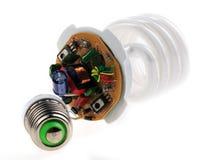 Energy-saving bulb Royalty Free Stock Images