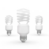 Energy saving bulbs Royalty Free Stock Photography