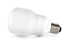Energy saving compact fluorescent lightbulb Royalty Free Stock Photo