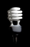Energy saving compact fluorescent lightbulb Royalty Free Stock Photos