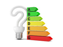Energy saving concept. Royalty Free Stock Photography