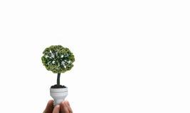 Energy saving concept Stock Image