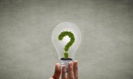 Energy saving concept Royalty Free Stock Photos