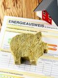 Energy saving concept Stock Photography