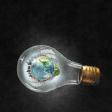 Energy saving concept Royalty Free Stock Photography