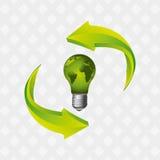 energy saving  design Royalty Free Stock Photo