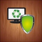 energy saving  design Royalty Free Stock Photography