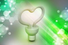 Energy saving fluorescent Stock Images