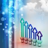 Energy saving fluorescent Stock Photos