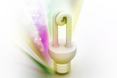 Energy saving fluorescent Royalty Free Stock Photography