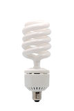 Energy saving fluorescent light bulb Royalty Free Stock Photo