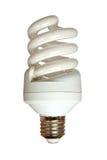 Energy saving fluorescent light bulb Royalty Free Stock Photos