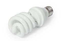 Energy saving fluorescent light bulb (CFL) Stock Image