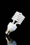 Energy saving fluorescent light bulb Royalty Free Stock Image