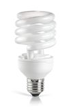 Energy saving  fluorescent lightbulb Royalty Free Stock Photography