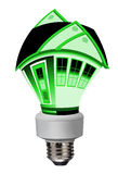 Energy saving; going green Stock Photography
