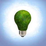 Energy saving green eco bulb Royalty Free Stock Photos