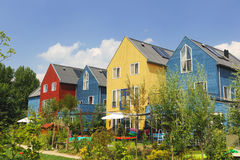 Energy saving house Stock Image