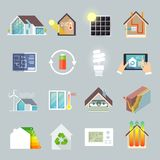 Energy Saving House Royalty Free Stock Images