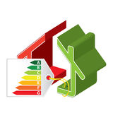 Energy saving icon Royalty Free Stock Image